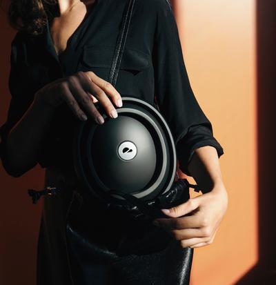 Flit lightweight folding ebike - closca helmet fits into bag